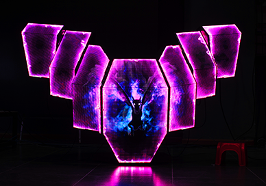 Crystal DJ Booth